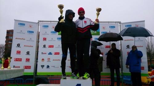 Podio 1/2 Maratón Fuencarral 2014